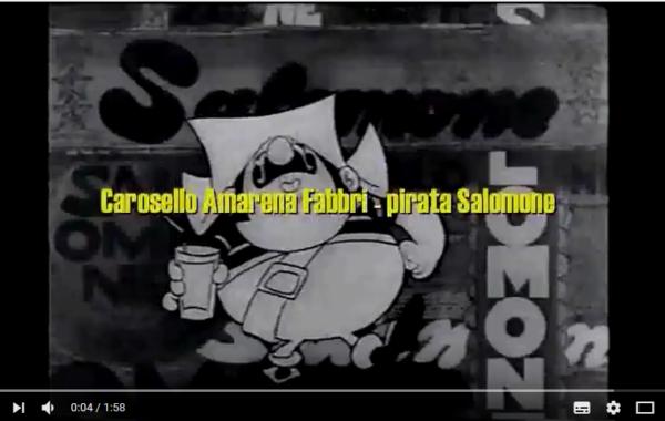 Carosello pirati Salomone Amarena Fabbri